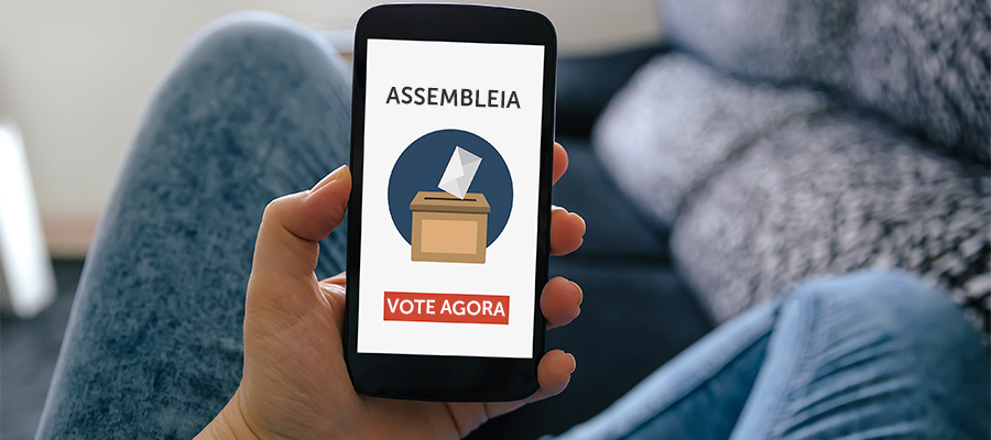 Projeto permite voto eletrônico em assembleias de condomínios