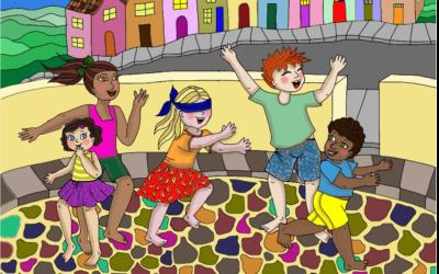 Vizinhos reclamam do barulho de crianças na quarentena
